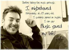 """Music saved my life"" - Shannon Leto (credits to Ekmi) #MARSquotes"