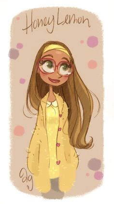 Honey Lemon from Disney's Big Hero 6 by David Gilson / princekido