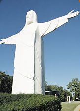 Christ of the Ozarks on the grounds of The Great Passion Play complex - moving, amazing.