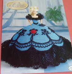 Image detail for -Miss December Cotillion Series Barbie Crochet Dress by 2oldhaggs
