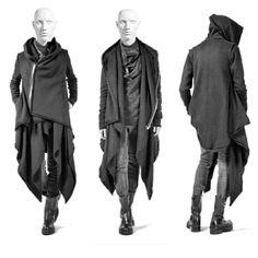 gothic modern witch goth mens strega depop male shaula template