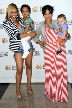 Tia & Tamera Mowry: Smiles With Their Sons