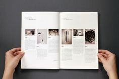 Annual report - craft on behance layout graphic design layou Page Layout Design, Web Design, Graphic Design Layouts, Graphic Design Inspiration, Design Posters, Design Trends, Text Layout, Brochure Layout, Print Layout