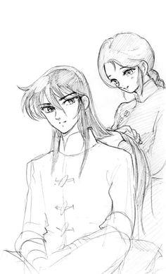 How about a braid, honey? - Shiryu & Shunrei