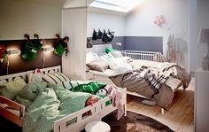 Dormitorio familiar compartido