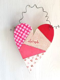 """Solid 1/2"""" pine heart, hand painted, heart, decorative heart, wood heart, Valentines day, Valentine, love, by JennysCornerShop on Etsy https://www.etsy.com/listing/488278311/solid-12-pine-heart-hand-painted-heart"""