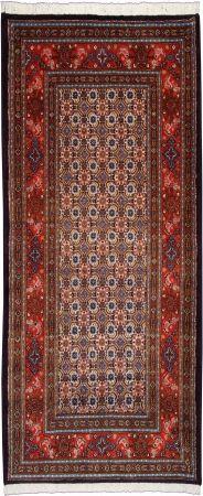 "Moud Mahi Salmon Allover Carpet CS-M10016192 X 80 Cm. (6'4"" X 2'6"" Ft.) - Carpetsanta"