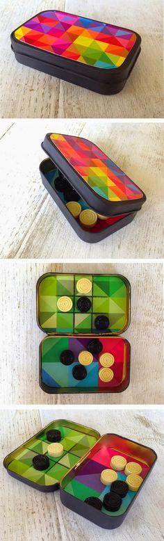 #reciclaje con cajas de altoids -