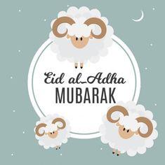Eid al-Adha, Kurban Bayrami muslim festival of sacrifice. Eid Adha Mubarak, Eid Mubarak Quotes, Eid Al Fitr, Eid Photos, Eid Images, Eid Mubarak Stickers, Eid Stickers, Ramadan, Eid Wallpaper