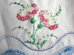 #Pillowcases  #Vintage Flowers