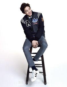 2014.11, Harper's Bazaar, Winner, Kim Jinwoo