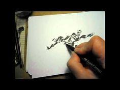 Encre / Ink #Capoeira 46