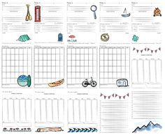 Venture Planner Printable Watercolor Planner | A Love Letter to Adventure