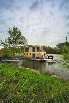 Nízkoenergetický rodinný dům na vodě 12