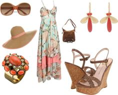 Summer chic, created by angelalevine on Polyvore