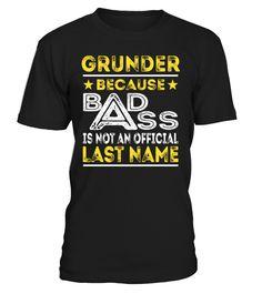 GRUNDER - Badass #Grunder