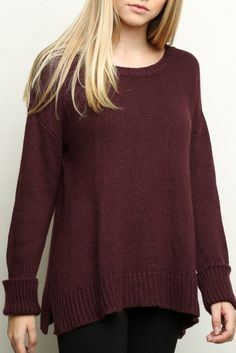 Brandy ♥ Melville | Jamie Sweater - Clothing. Brandy Melville can be found in Pacsun at Vintage Fair Mall