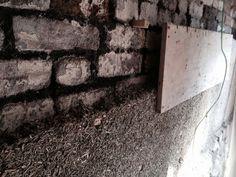 Hemp and Lime internal wall insulation - hmmm