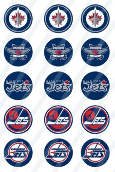 Winnipeg Jets digital collage sheet size 4x6 for by newdesigns4you, $1.95 Jets Hockey, Pro Hockey, Hockey Teams, Digital Collage, Collage Sheet, Craft Gifts, Nhl, Gift Ideas, Projects