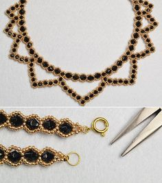 Like the golden seed beads necklace?The tutorial will be shared by LC.Pandahall.com soon.