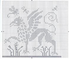Gallery.ru / Грифон из блога Needleprint - Samplers_&_ornaments/freebies - Jozephina
