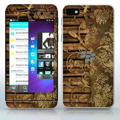 Room of a Geisha  Brown Beautiful image with bamboo and lace  phone skin sticker for Cell Phones / Blackberry Z10 | $7.95