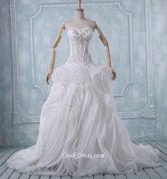 #Strapless #Sweetheart Boning #Wedding Dress - Imgur