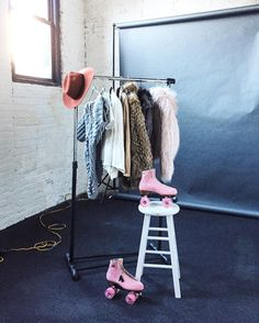Wardrobe  Ready for the next two days styling & directing @dropitmod's latest photo campaign!  #maemaestyling #DIMCreativeProcess by maemae_co