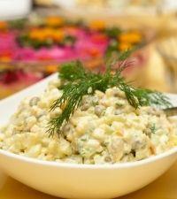 Salata de cartofi si mazare