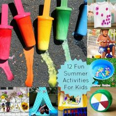 12 Summer Activities to Keep the Kids Busy