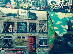 Look out for murals of Jamie Dornan and Gillian Anderson at The Duke of York pub on Donega. Fall Shows, Duke Of York, Gillian Anderson, Belfast, Jamie Dornan, Murals, How To Become, The Incredibles, Street Art
