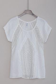 Tibbie Top in White