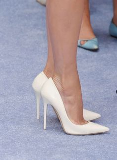 High heels? How about white and sexy? www.ScarlettAvery.com