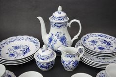 3 Pc Vtg Retsch & Co Wunsiedel Blue Onion Coffee Tea Set Bavaria Porcelain  | Pottery & Glass, Pottery & China, Art Pottery | eBay!