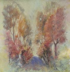 STAY, original painting by Emilia Milcheva, 53x53cm