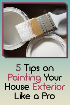 5 Tips on Painting Your House Exterior Like a Pro - Mr. DIY Guy Drip Painting, House Painting, Perfect Image, Perfect Photo, Paint Your House, Like A Pro, Feel Tired, Cool Paintings, Love Photos