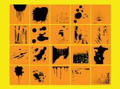Free paint and spray vector textures design set to add a modern grunge look and depth to your graphics. Download this freebies Illustrator files pack with paint splatters, splashes and splots to create urban posters, hip hop graphics, street art layouts and modern digital art layouts. Vector brushes pack by Faraz Ghori