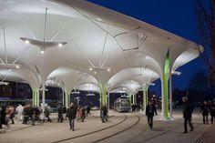 Estas son algunas de las estaciones de buses y tranvías más modernas del mundo. #ArquitecturaEnImagenes