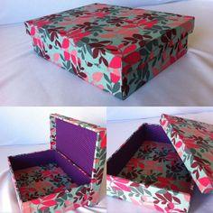 Caixa Folhagem Color   www.munayartes.com
