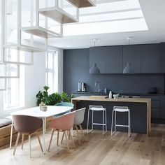 A stunning open-plan kitchen dining space - Is To Me