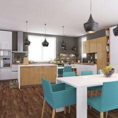 Proiecte mobilă la comandă - Portofoliu | ArtDecor House Minimalism, House, Dining, Kitchen, Table, Furniture, Home Decor, Art, Kitchen Design