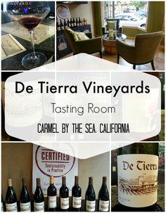 De Tierra Vineyards Tasting Room - Carmel by The Sea, California #CarmelbytheSea #Centennial