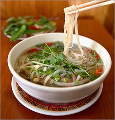 It's literally impossible for me to each too much of this stuff, pho.