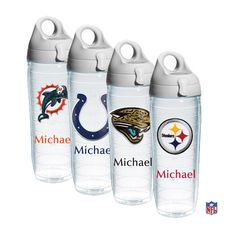 Design Your Own NFL Personalized Water Bottle