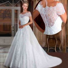 Western Style Wedding Dresses - Wedding and Bridal Inspiration Western Wedding Dresses, 2016 Wedding Dresses, Bridal Dresses, Wedding Gowns, Lace Wedding, White Ball Gowns, Lace Mermaid Wedding Dress, Pearls, Embroidered Lace