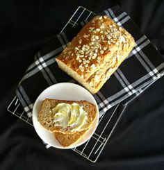 Honey Oat Quick Bread...this looks really good!