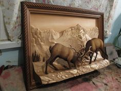 Wood Carving Designs, Wood Carving Art, Wood Art, Found Object Art, 3d Painting, Tree Sculpture, Mural Art, Wildlife Art, Woodworking Crafts
