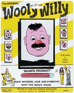 World Famous Wooly Willy is made in my hometown of Smethport, PA