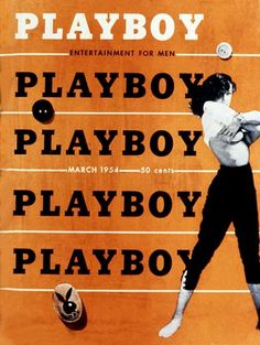 Playboy magazine cover March 1954
