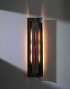The Ada Gallery Sconce from Hubbardton Forge is available in either Ivory, Blue, Amber or Red Glass. Wall Lights, Light, Bronze, Sconces, Glass, One Light, Modern Contemporary, Three Light Sconce, Bulb